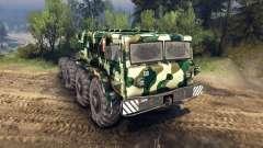 MAZ-535 camo v4 para Spin Tires