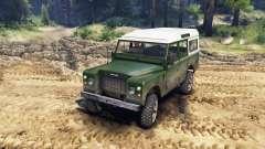 Land Rover Defender Green para Spin Tires