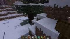 A queda de neve