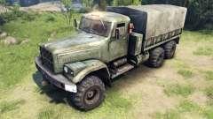 Novas texturas para as rodas KrAZ-255 para Spin Tires