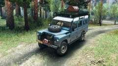 Land Rover Defender Series III v2.2 Blue para Spin Tires