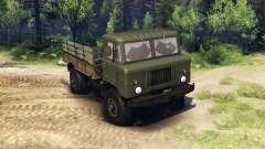 GAZ-66 caminhão :  para Spin Tires