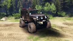 Jeep Wrangler Unlimited SID Fabtech para Spin Tires