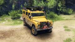 Land Rover Defender Series III v2.2 Camel Trophy para Spin Tires