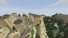 A cidade do gerador de energia para Minecraft