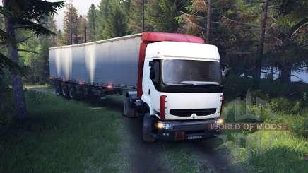 Renault Premium White para Spin Tires