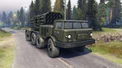 ZIL-135LM (P) para Spin Tires
