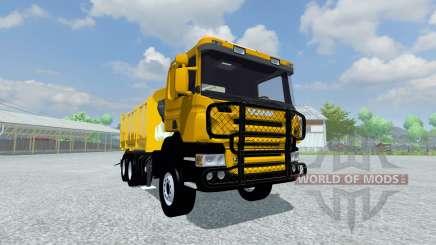 Scania P420 para Farming Simulator 2013
