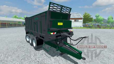 Trailer de Tebbe HS 320 para Farming Simulator 2013