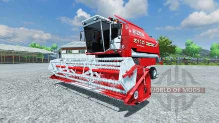 Bizon Z 110 red para Farming Simulator 2013