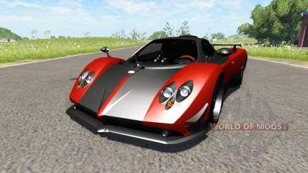 Pagani Zonda Cinque Roadster 2009 para BeamNG Drive