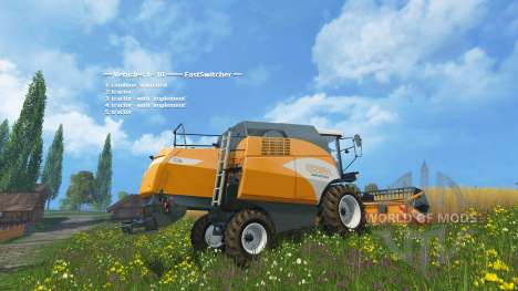 Fast Switcher para Farming Simulator 2015