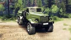 KrAZ-255B CA 8.5 Inflamáveis v2.7 para Spin Tires