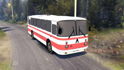 ЛАЗ-699Р listras vermelhas para Spin Tires