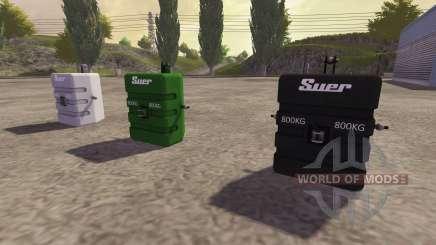 Oposição a 800 kg para Farming Simulator 2013
