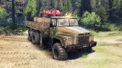 KrAZ-260 v2.0 para Spin Tires
