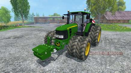 John Deere 6830 Premium FL para Farming Simulator 2015
