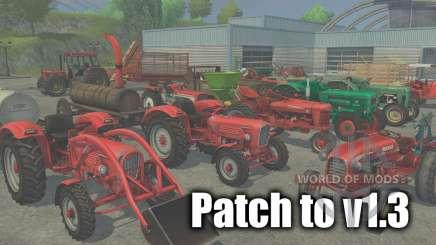 Patch para a versão 1.3 para Farming Simulator 2013