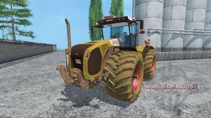 CLAAS Xerion 5000 v2.0 dirt para Farming Simulator 2015