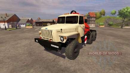 Ural-5557 guindaste marfim para Farming Simulator 2013