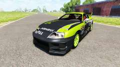 Toyota Supra Drift 1995 para BeamNG Drive