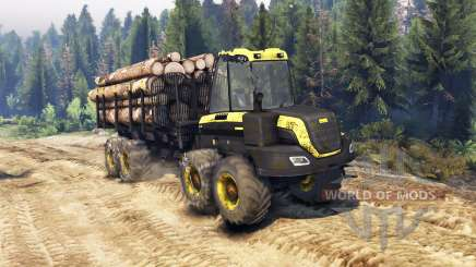 PONSSE Buffalo 8x8 AT para Spin Tires