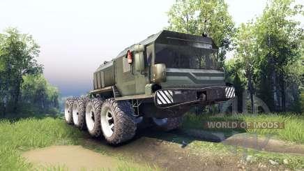 Veículos foram modernizadas-7428 Rusich para Spin Tires