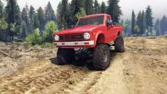 Toyota Hilux Truggy 1981 v1.1 red para Spin Tires