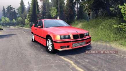 BMW M3 E36 para Spin Tires