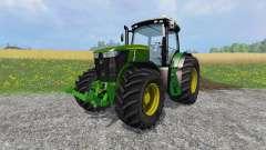 John Deere 7310R v2.0 para Farming Simulator 2015