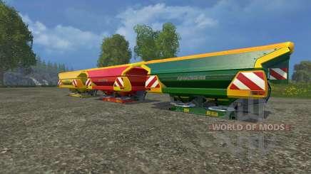 Conjunto Amazone Zam 1501 para Farming Simulator 2015