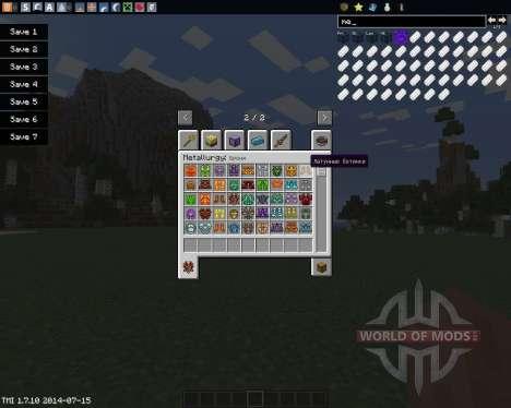 Metallurgy para Minecraft