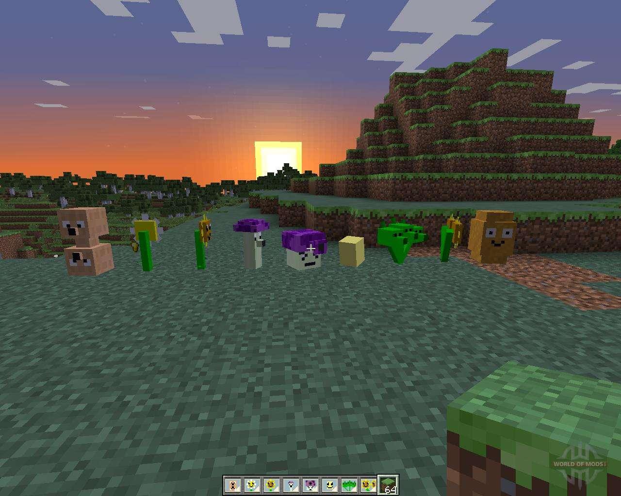 Plants Vs Zombies: Minecraft Warfare para Minecraft