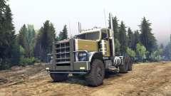 Peterbilt 379 green para Spin Tires