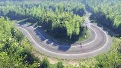 Deriva mapa para Spin Tires