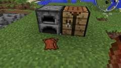 Rotten Flesh to Leather para Minecraft