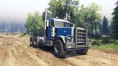 Peterbilt 379 light blue para Spin Tires