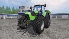Deutz-Fahr Agrotron 7250 TTV FL QuadTrac para Farming Simulator 2015