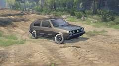 Volkswagen GOLF MK2 GTI para Spin Tires