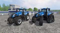 New Holland T8.320 and T8.435 SmartTrax para Farming Simulator 2015