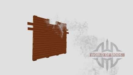 Uma barragem de madeira para Farming Simulator 2015
