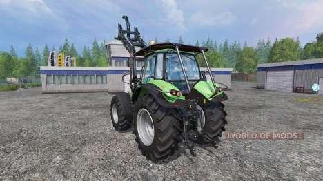 Deutz-Fahr Agrotron 7250 TTV v2.0 forest para Farming Simulator 2015