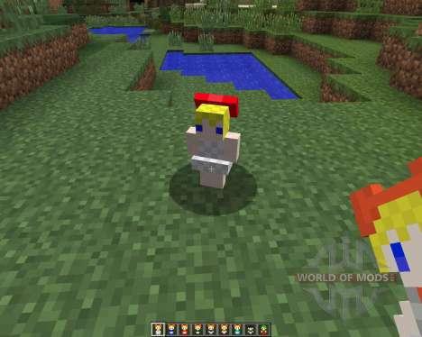 Touhou Alices Doll [1.7.2] para Minecraft