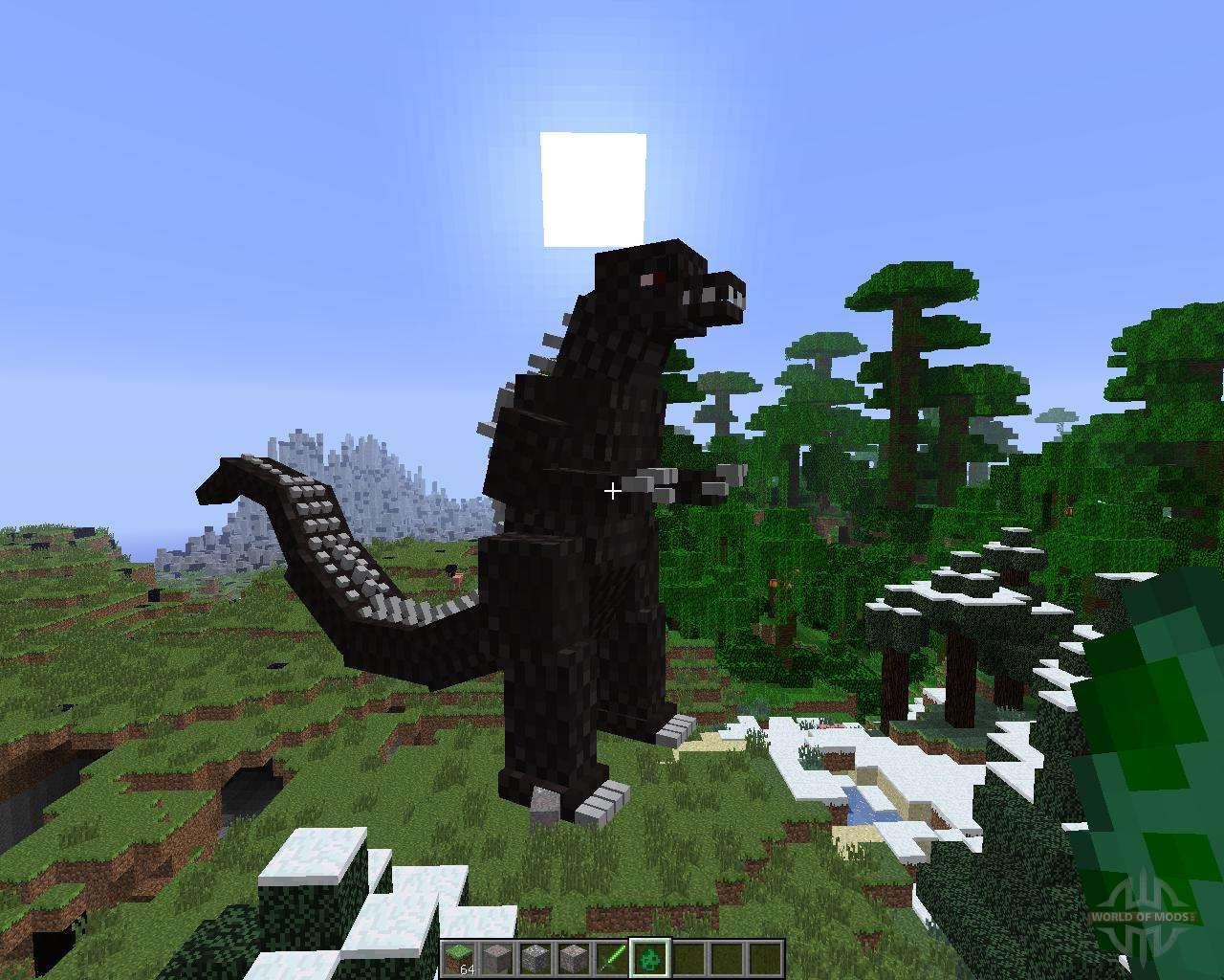 Godzilla [10.10.10] para Minecraft