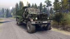 KrAZ-255 v3.1 para Spin Tires