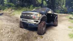 Ford Raptor SVT v1.2 factory tuxedo black para Spin Tires