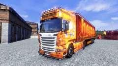Pele feita de Oxford para Scania truck para Euro Truck Simulator 2