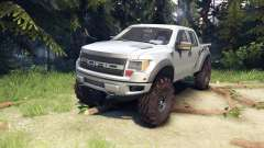 Ford Raptor SVT v1.2 factory ignot silver para Spin Tires