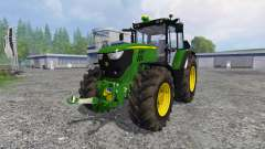 John Deere 6170M FL para Farming Simulator 2015