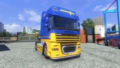 Pele IKEA para DAF XF unidade de tracionamento para Euro Truck Simulator 2